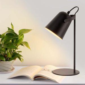 Lampe à poser ferronnerie H34cm pour chambre bureau post-moderne