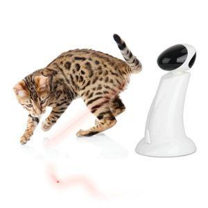 Jouet de chat de faisceau tournant automatique 360°