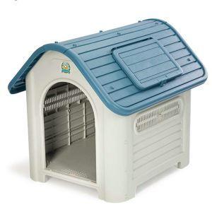 Cage avec lucarne en plastique résistant à la pluie extérieur amovible lavable pour chien