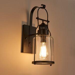 Livraison gratuite applique murale H32cm vintage industriel  lampe pour salon salle à manger cuisine café