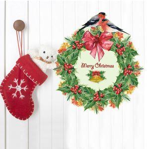 Sticker guirlande Noël livraison gratuite
