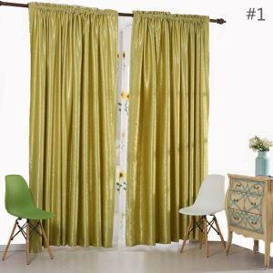 Rideau tamisant jacquard en polyester dessin magnifique pour chambre à coucher abstrait américain