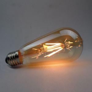3 Edison ampoules LED 4W E27 ST64