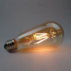 5 Edison ampoules LED 4W E27 ST64