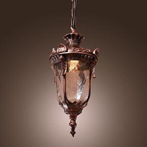 Lustre Antique Inspiré lampe pendentif avec 1 lampe