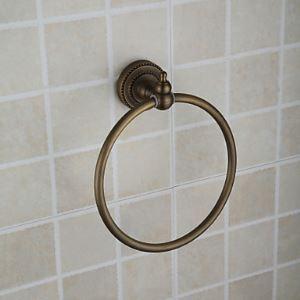Afficher les détails pour (Entrepôt UE) Bronze huilé anneau rond de serviette