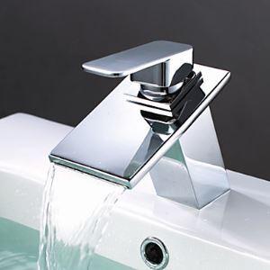 (Entrepôt UE) Laiton cascade lavabo robinet