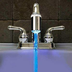 (Entrepôt UE) LED robinet pulvérisateur buse (HM - F0010758)