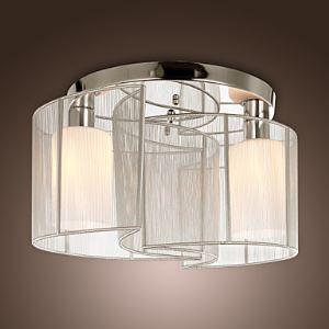 (Entrepôt UE) Lustre à 2 lampes moderne simple luminaire pour salle cuisine chambre