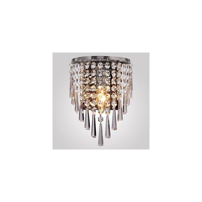 Lampe applique murale applique cristal entrep t ue - Applique murale cristal ...