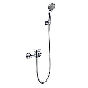 (Entrepôt UE) Robinet de douche en laiton massif baignoire avec une douche à main ABS note