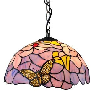 (Entrepôt UE) Tiffany Lustre Pendentif avec 1 lampe