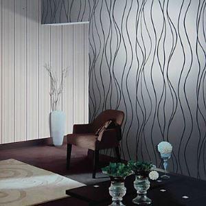 Vénus contemporaine courbe Stripe mode fond d'écran 4 couleurs