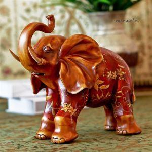 (Entrepôt UE) Ornement éléphant