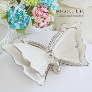 (Entrepôt UE) Papillon décorative plaque (vendu séparément)