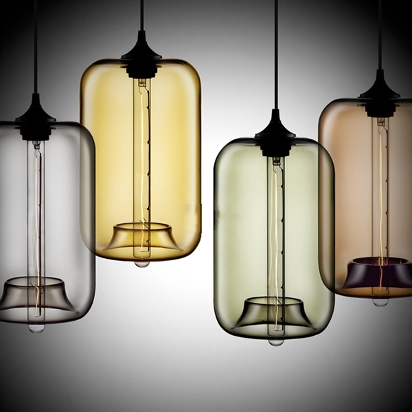 suspension verre transparent h34cm lampe bulle luminaire design pour cuisine chambre salle. Black Bedroom Furniture Sets. Home Design Ideas