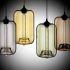 Afficher les détails pour Suspension en verre transparent H34cm lampe bulle luminaire design pour cuisine chambre salle