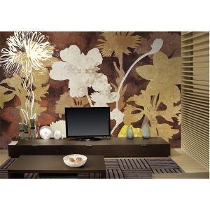 Silhouette contemporaine papier intissé Mural