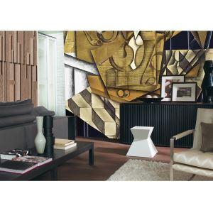 Peinture murale de papier Non tissé motif abstrait contemporain