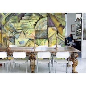Printemps contemporain abstrait Non tissé papier peinture murale