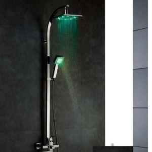 Température capteur contrôle 3 couleurs LED lumière eau robinet douche