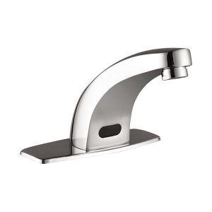 Laiton contemporaine robinet de bain avec capteur automatique