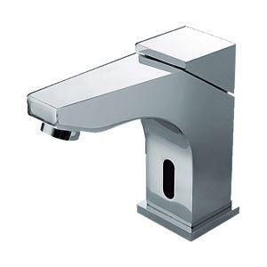 Gendarmerie style contemporain Chromé Pont Sonde laiton Robinets de lavabo