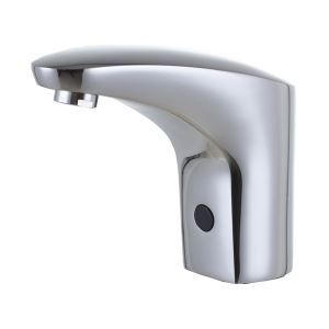 Chromé finition des robinets d'évier salle de bain Style contemporain en laiton capteur