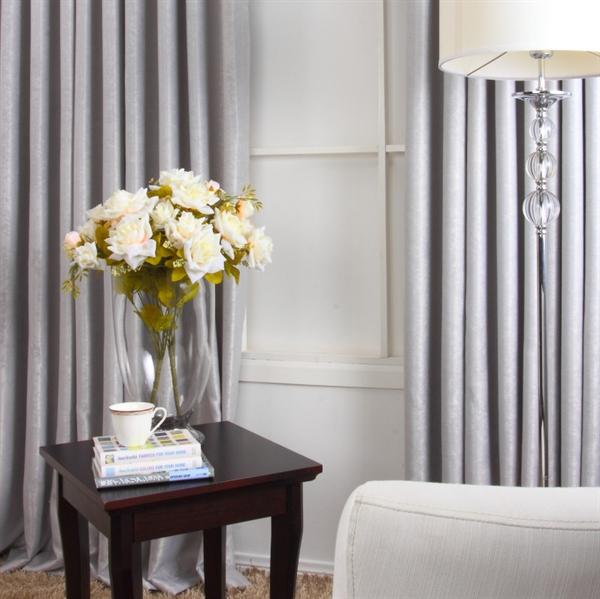 out of stock - (Entrepôt UE) Contempory gris Polyester tissage ...