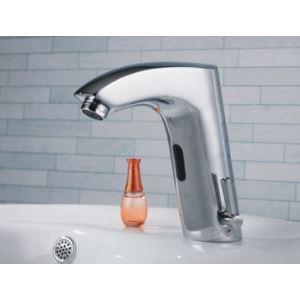 (Entrepôt UE) Laiton robinet lavabo avec capteur automatique (chaud et froid)