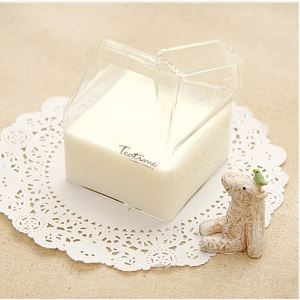 (Entrepôt UE) L'heure du thé 400ml créatif porteur de lait