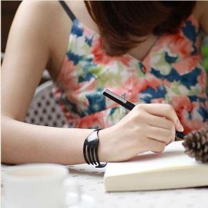 (Entrepôt UE) Créatif fourche bracelet (modèles Mini Blanc)