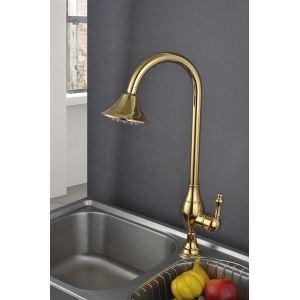 (Entrepôt UE) (DISPONOBLE) Laiton antique titane robinet de cuisine (HM3019)