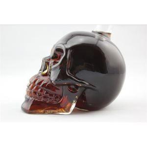 (Entrepôt UE) Crâne verre de bouteille de vin