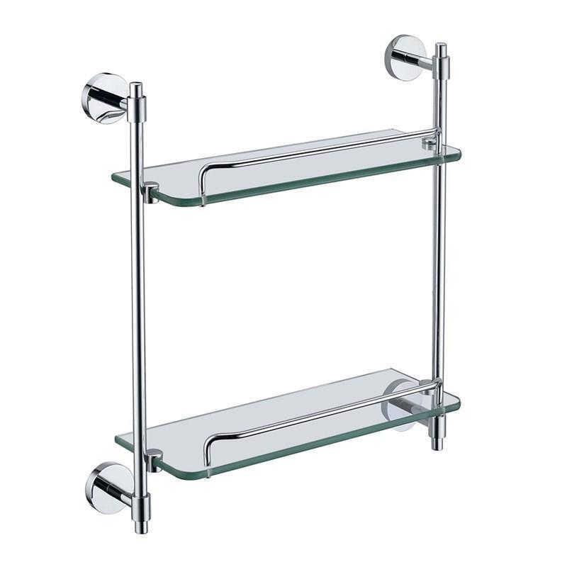 etag re de salle de bain en verre chrome. Black Bedroom Furniture Sets. Home Design Ideas