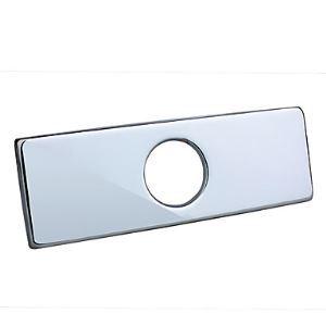 (Entrepôt UE) Trou d'évier chromé rectangulaire plaque de pont couverture polissé (0572-370)