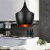 Afficher les détails pour (Entrepôt UE) Lustre Lampe pendentif avec abat-jour noir ou blanc