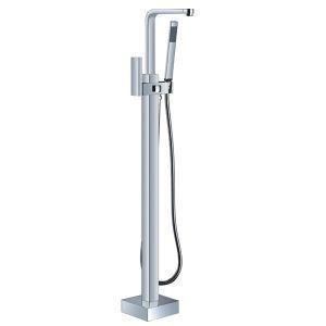 Robinet de baignoire avec douchette en laiton pour salle de bain moderne