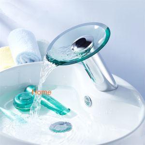 Robinet automatique infrarouge capteur cascade salle de bains lavabo bassin