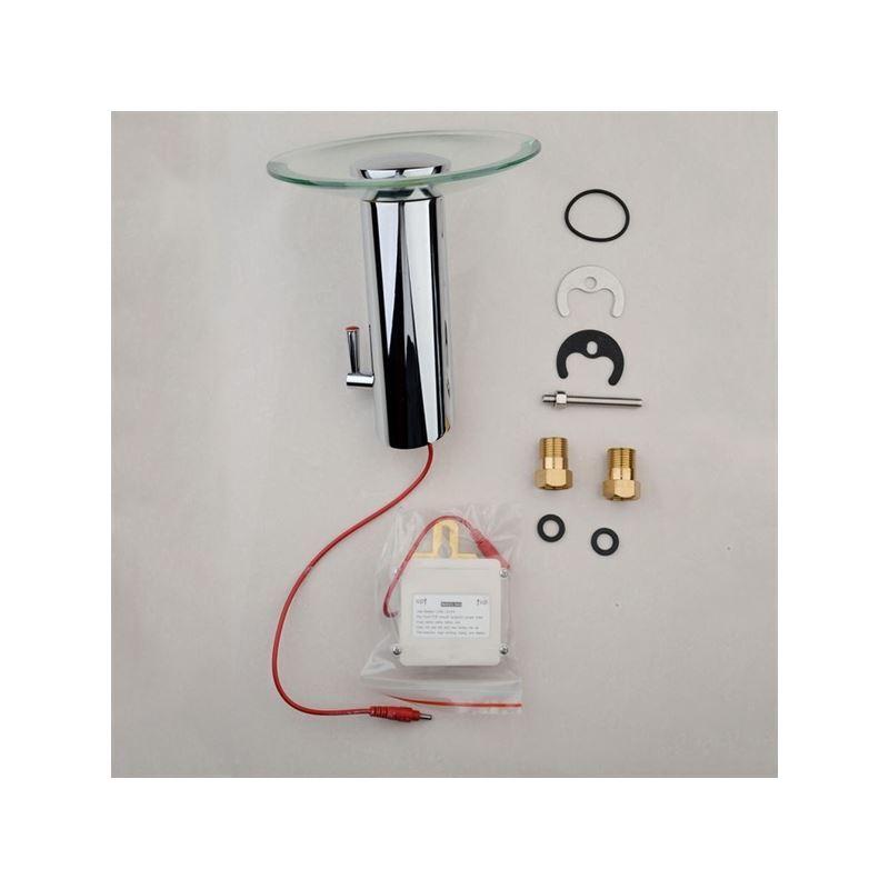 entrep t ue robinet de lavabo automatique infrarouge. Black Bedroom Furniture Sets. Home Design Ideas