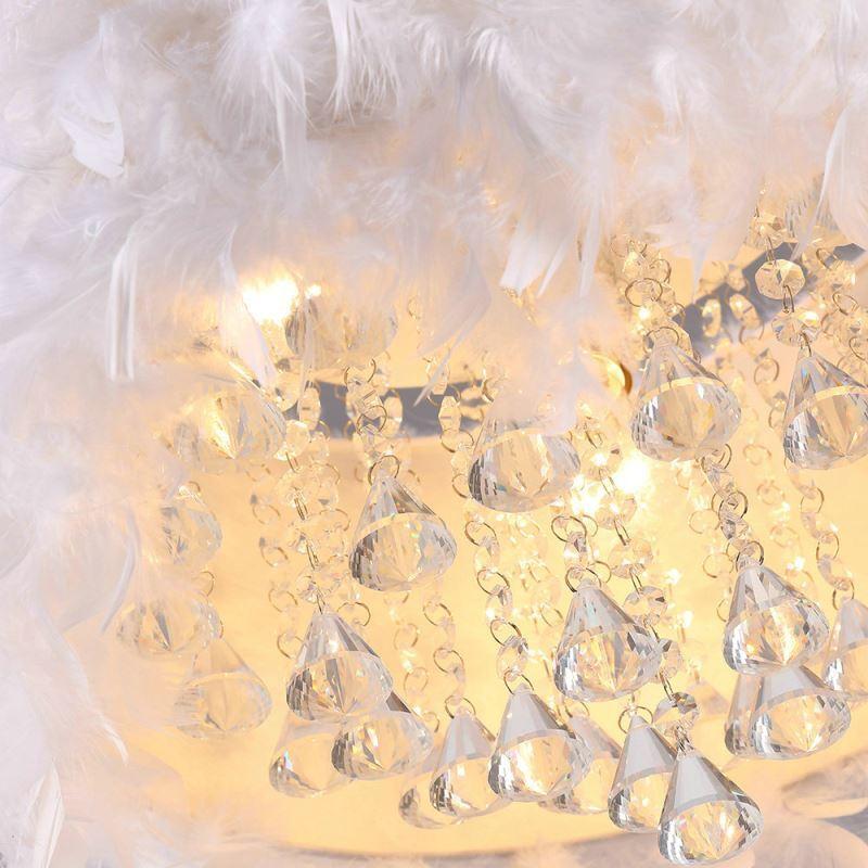 Lustre plume pas cher lustre pour salle a manger moderne argenteuil carton soufflant lustre - Lustre a plume ...