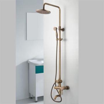 entrep t ue robinet de douche en laiton antique mitigeur pour salle de bains toilettes pas. Black Bedroom Furniture Sets. Home Design Ideas