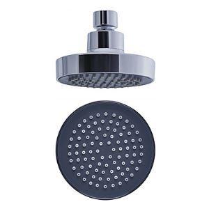 (Entrepôt UE) 4 pouces Cercle Pommeau de douche de tête en pluie