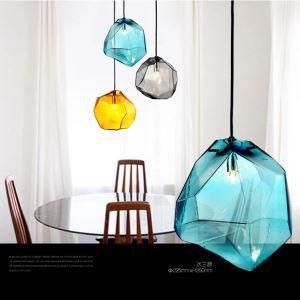 (Entrepôt UE) Couleur contemporain Mini lustre suspension design luminaire cuisine décoratif