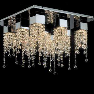 9-Lumières moderne contemporain artiste cristal plafonnier