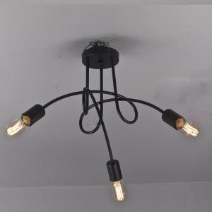 Plafonnier ampoules Edison Style Rétro Américain décoratif Lampe de plafod lustre pas cher pour cuisine salle
