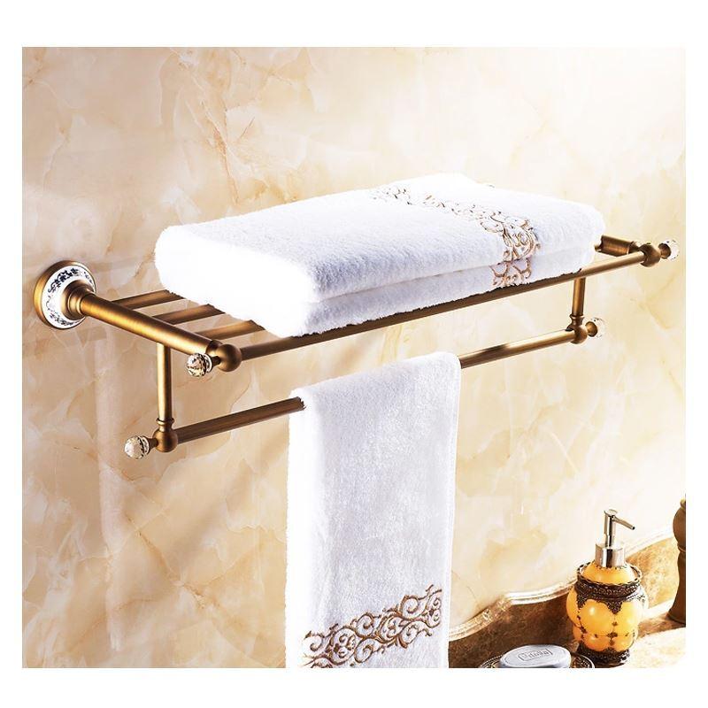 Accessoire de bain barre porte serviette accessoires for Accessoire salle de bain porte serviette