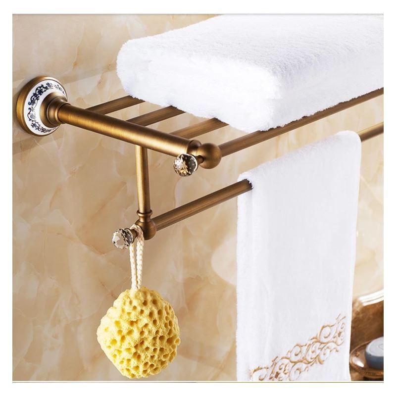 accessoire de bain barre porte serviette accessoires vintage de salle de bain porte. Black Bedroom Furniture Sets. Home Design Ideas