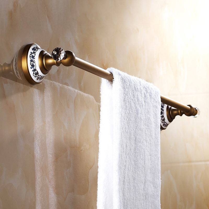 Accessoire de bain barre porte serviette europ enne for Accessoire salle de bain retro