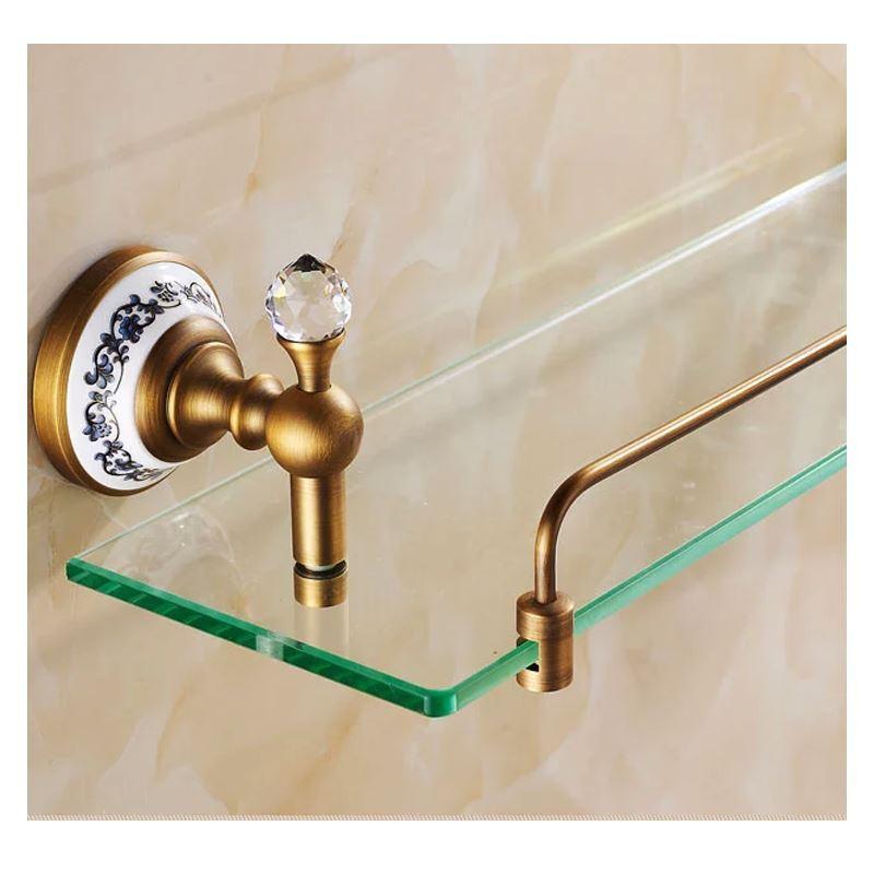 Accessoire de bain etag res de salle de bains salle de bains vintage euro - Etagere de baignoire ...